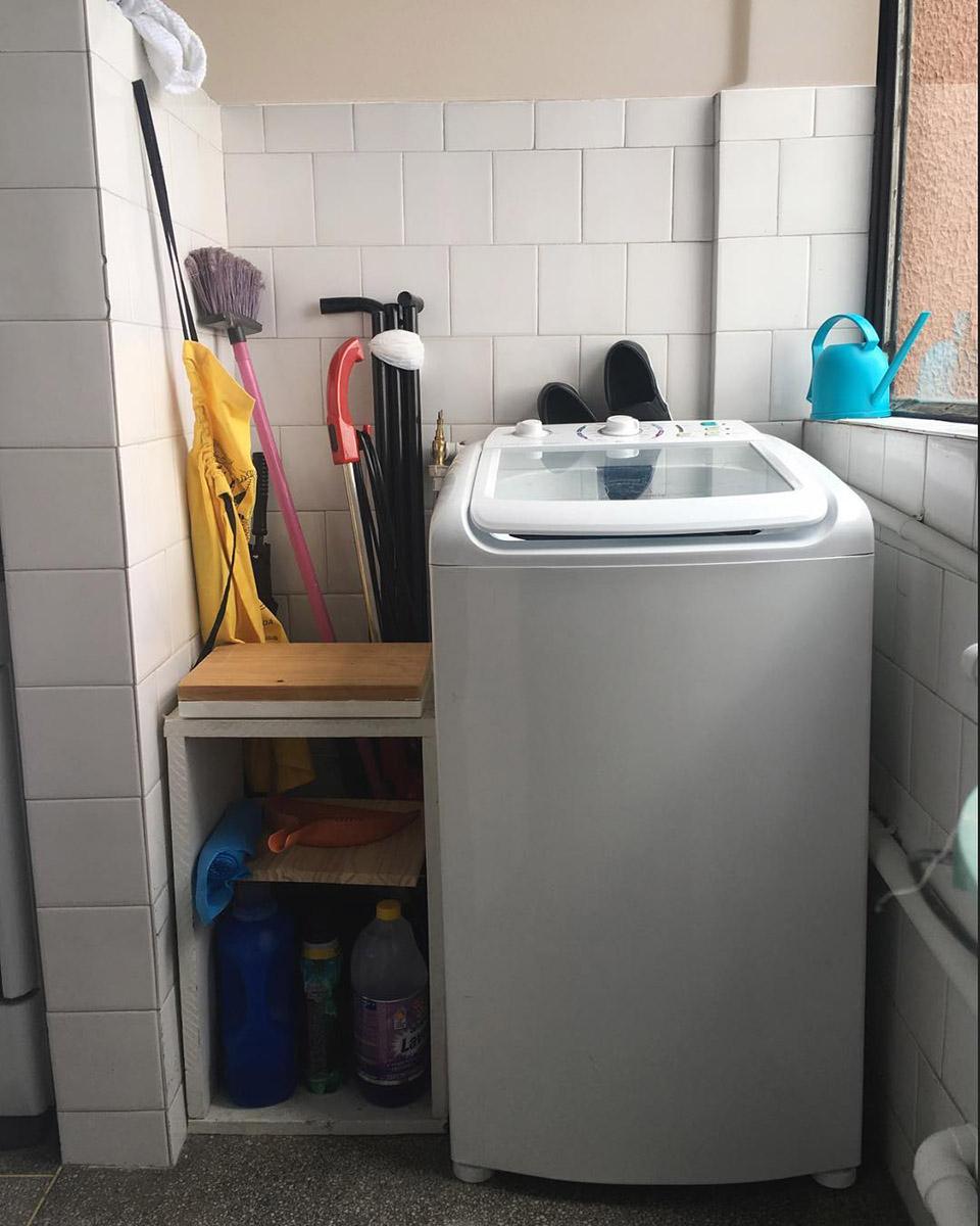 Mini lavadero antes