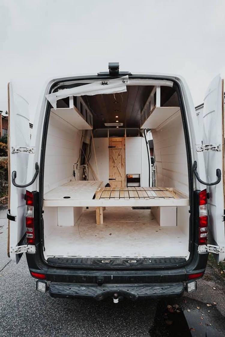 Transformando furgoneta en vivienda