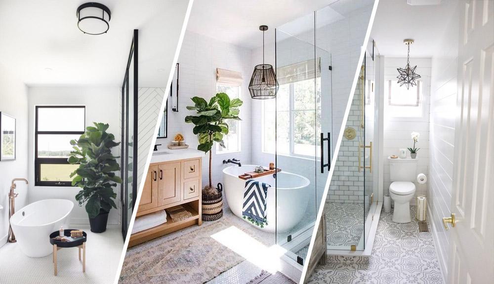 7 baños preciosos para inspirarse