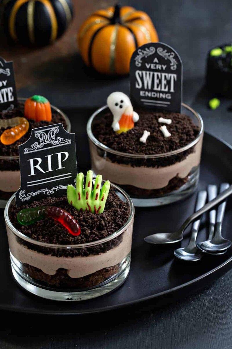 Brownie de Halloween