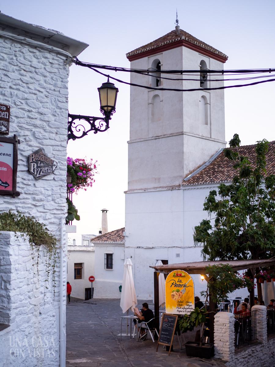 Calles de Capileira, La Alpujarra