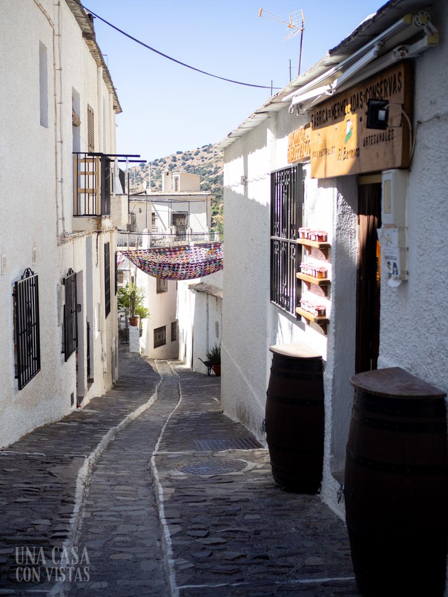 Calles de Pampaneira, La Alpujarra