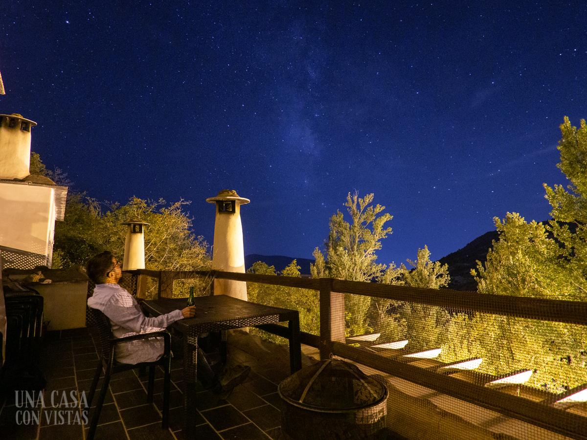 Cielo estrellado en La Alpujarra