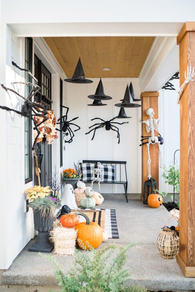 Decoración de Halloween para entrada